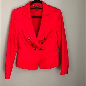 White House Black Market Red Jacket
